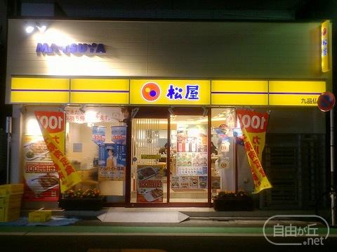 松屋 九品仏店 / まつや