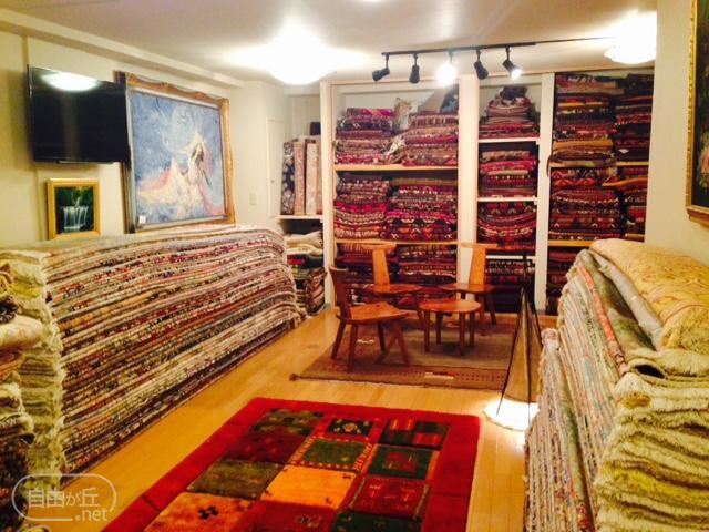 ペルシャ絨毯店 シャーロム