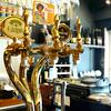 樽生は常時3種類。エーデルピルス・エビススタウトクリーミートップ・ベルギービール樽生