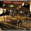 イタリア製「ラ・マルゾッコ」おいしいコーヒーも飲めますよ。