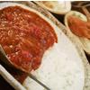 ちょこっと食べたい!酒のつまみにもなる「特製の牛すじトマトカレー」¥290!刺激が欲しいかたは「ラムキーマカレー」がオススメ!