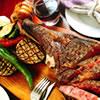 圧巻の迫力!!「肉の王様!トマホーク」1本が700g前後でご提供します。がっつりお肉を食べたくなったらおすすめはトマホークです!!