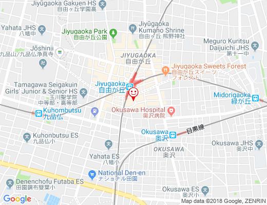 7iro bouquet / ナナイロブーケの地図 - クリックで大きく表示します
