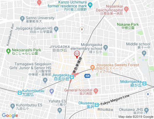 wild flower & cafe AK+ / ワイルドフラワーカフェ アーケイプラスの地図 - クリックで大きく表示します