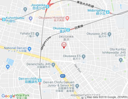 四川料理 荒木 / アラキの地図 - クリックで大きく表示します