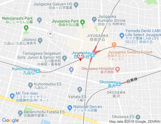 Arrivée et Départ / アリヴェデパールの地図 - クリックで大きく表示します