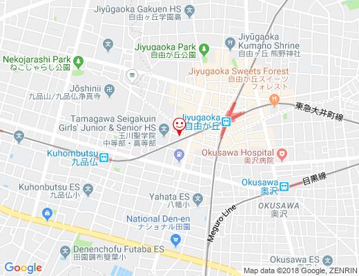 Atelier doux dimanche / アトリエ・ドゥー・ディマンシュの地図 - クリックで大きく表示します