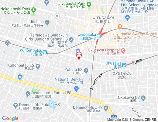 BAR JICON OKUSAWA / バージコンオクサワの地図 - クリックで大きく表示します