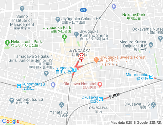 おやこカフェ BISOUS BISOUS / オヤコカフェ ビズビズの地図 - クリックで大きく表示します