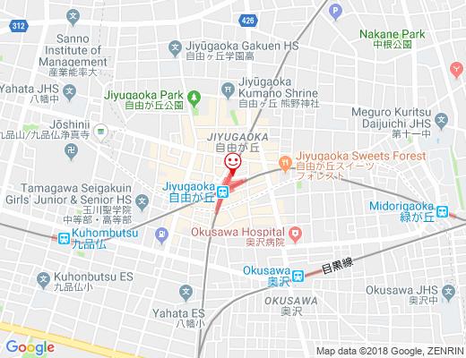 BISTRO TAKIZAWA / ビストロタキザワの地図 - クリックで大きく表示します