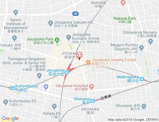 BISTRO YUJI / びすとろゆうじの地図 - クリックで大きく表示します