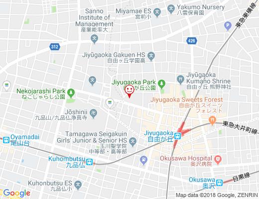 Buriki no Zyoro / ブリキのジョーロの地図 - クリックで大きく表示します