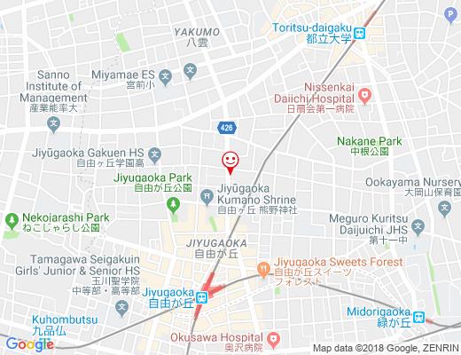 Busatti Tokyo / ブサッティ 東京の地図 - クリックで大きく表示します