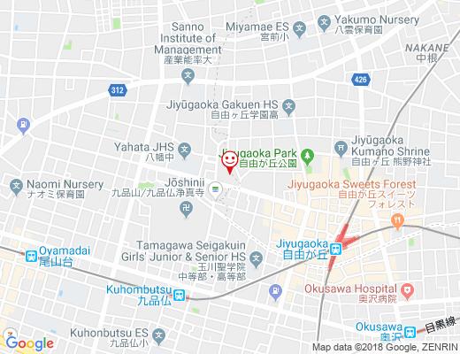 Cafe Nijiilo / カフェにじいろの地図 - クリックで大きく表示します