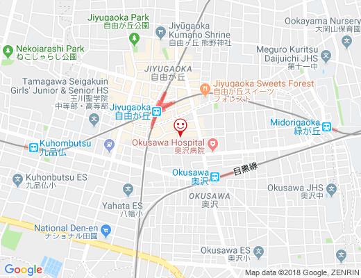 Cafe & Bar MOAI / モアイの地図 - クリックで大きく表示します