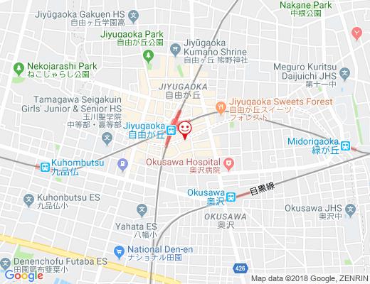 Chanoko / チャノコの地図 - クリックで大きく表示します