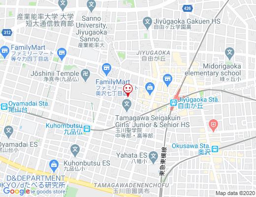 CAFE STAND & CRAFT CHILT / チルトの地図 - クリックで大きく表示します