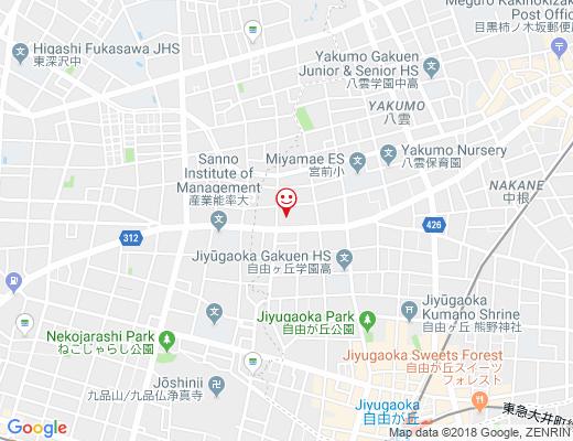 クリエイトS.D 目黒八雲店 / クリエイトエス・ディーの地図 - クリックで大きく表示します