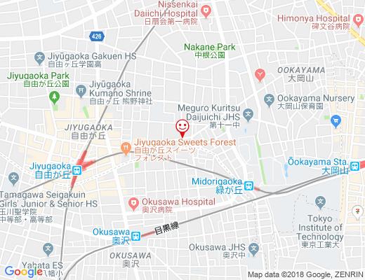 The Modern Thailand dao / ザ・モダンタイランド ダオの地図 - クリックで大きく表示します