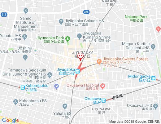 韓国カラオケダイニングバー「 t 」 / カラオケダイニングバー「ティー」の地図 - クリックで大きく表示します