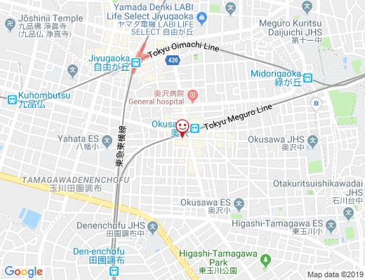韓旬菜 Dining Yui / ダイニングユイの地図 - クリックで大きく表示します