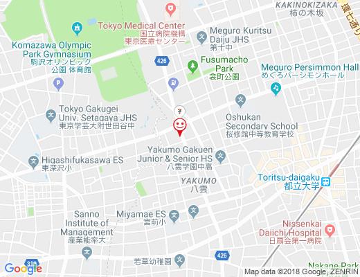 ドッグカフェ ラ・カンパーニュの地図 - クリックで大きく表示します