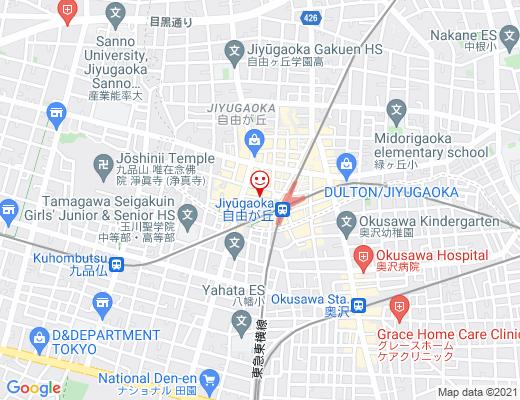 DOUTOR コーヒーショップ 自由が丘店 / ドトールの地図 - クリックで大きく表示します