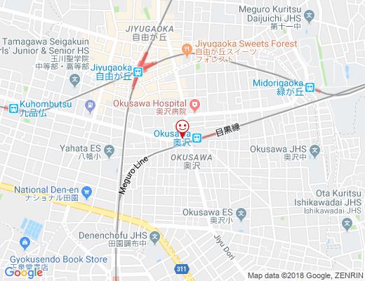 FASTGYM24 奥沢店 / ファストジムの地図 - クリックで大きく表示します