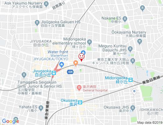 felice 緑ヶ丘店 / フェリーチェの地図 - クリックで大きく表示します