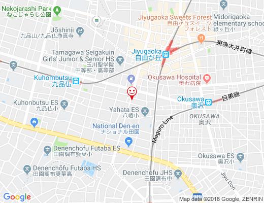 fete cafe / フェテカフェの地図 - クリックで大きく表示します