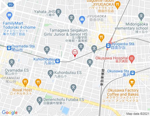 atelier frangipani / アトリエ・フランジパーニの地図 - クリックで大きく表示します