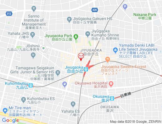 富士そば 自由が丘店 / ふじそばの地図 - クリックで大きく表示します