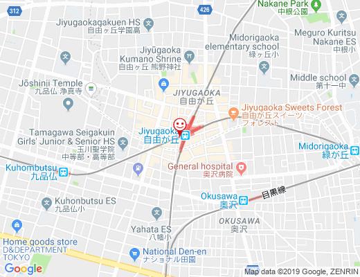 Gong cha エトモ自由が丘店 / ゴンチャの地図 - クリックで大きく表示します