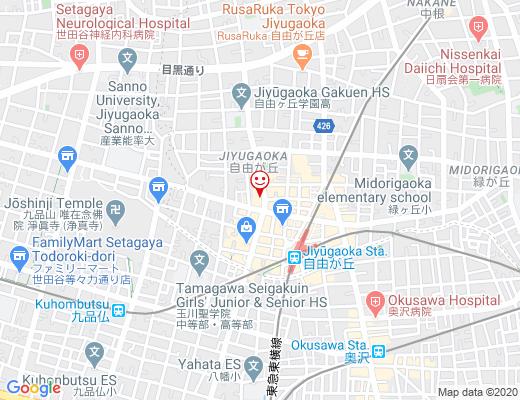 GOOD CHEESE GOOD PIZZA JIYUGAOKA / グッドチーズグッドピッツァの地図 - クリックで大きく表示します