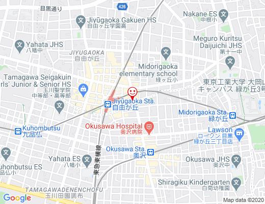 Design Tshirts Store graniph 自由が丘 / グラニフの地図 - クリックで大きく表示します