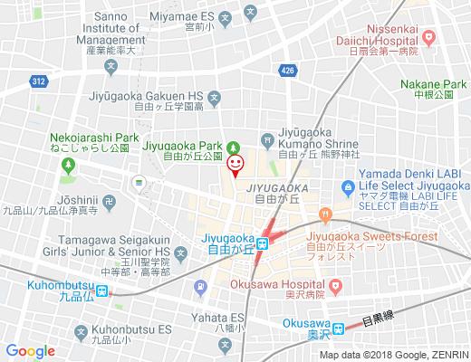 韓SHOP 恋李 KOMOMO / ハンショップ コモモの地図 - クリックで大きく表示します