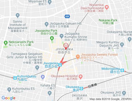 花の店 平井 / ハナノミセ ヒライの地図 - クリックで大きく表示します