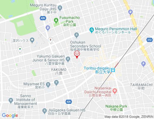 八雲 氷川神社 / やくもひかわじんじゃの地図 - クリックで大きく表示します