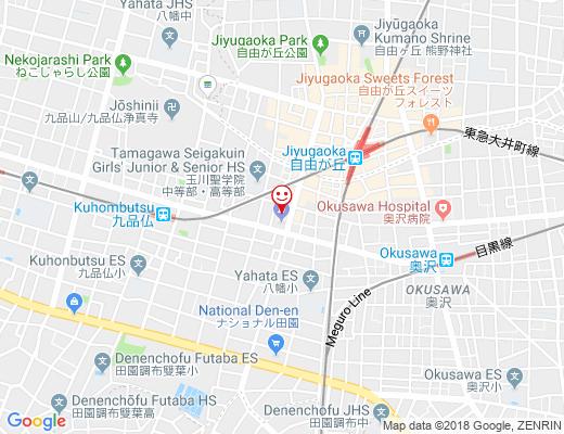 ザルワ ビリヤニ カフェ 自由が丘本店の地図 - クリックで大きく表示します