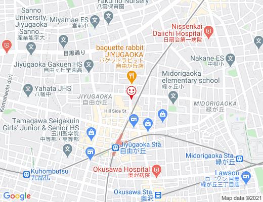 和泉家吉之助 自由が丘販売所 / いずみやきちのすけの地図 - クリックで大きく表示します