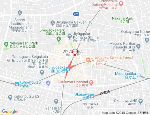韓国料理 満月 / マンゲツの地図 - クリックで大きく表示します