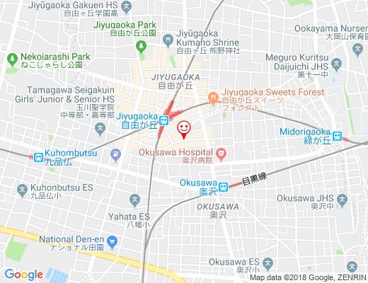 katakana / カタカナの地図 - クリックで大きく表示します