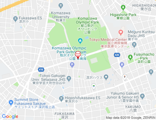 KOMAZAWA PARK CAFE / コマザワパークカフェの地図 - クリックで大きく表示します