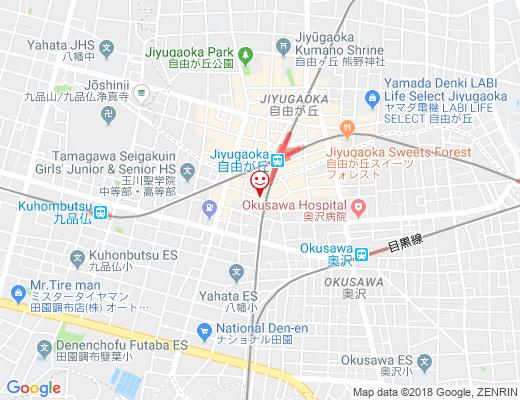 KOREAN KITCHEN 丹心 / たんしんの地図 - クリックで大きく表示します