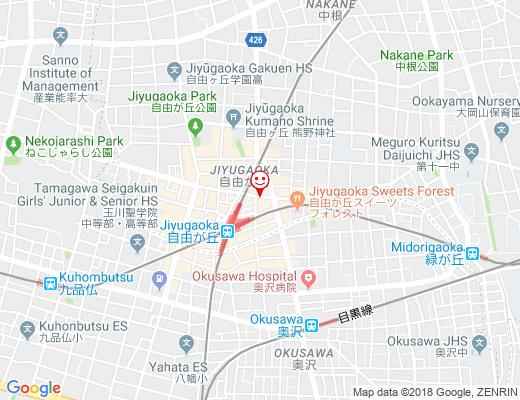 タイの食卓 クルン・サイアム×アティック×の地図 - クリックで大きく表示します