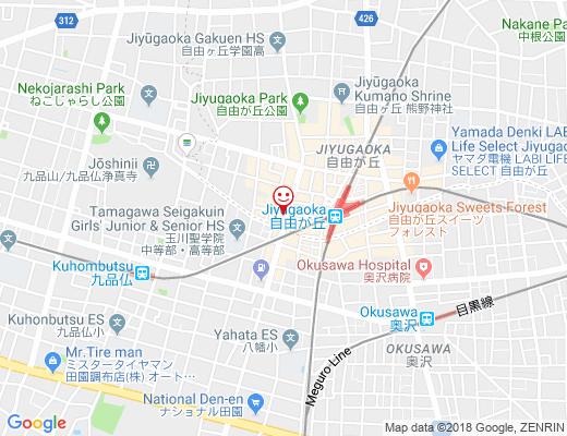 京乃臣 / キョウノシンの地図 - クリックで大きく表示します