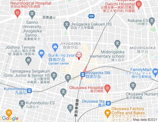 THE LAB TOKYO / ザ ラボ トウキョウの地図 - クリックで大きく表示します