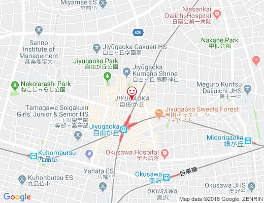 LUCAs BAKER TOKYO / ルーカスベーカートウキョウの地図 - クリックで大きく表示します