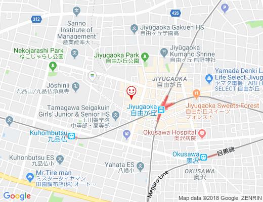 China Table エムクローバーの地図 - クリックで大きく表示します
