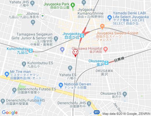 ODAIDOKO まわり路 / おだいどこ まわりみちの地図 - クリックで大きく表示します
